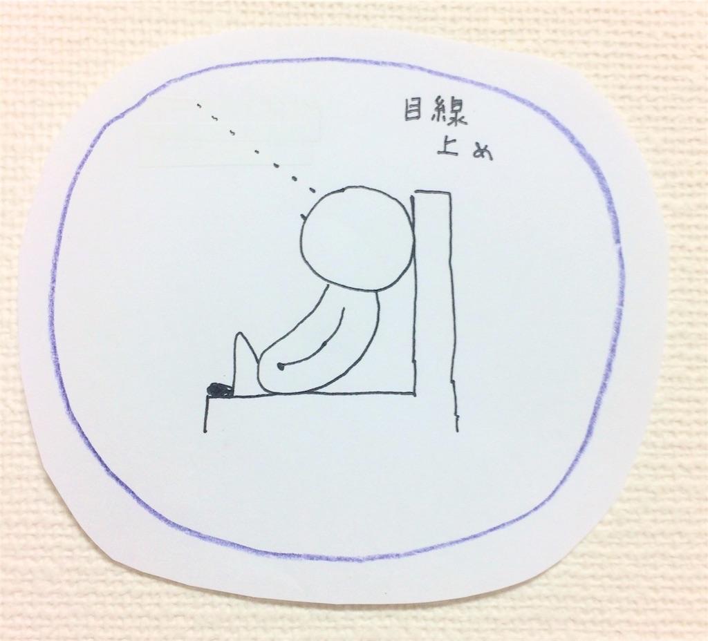 座る姿勢図解