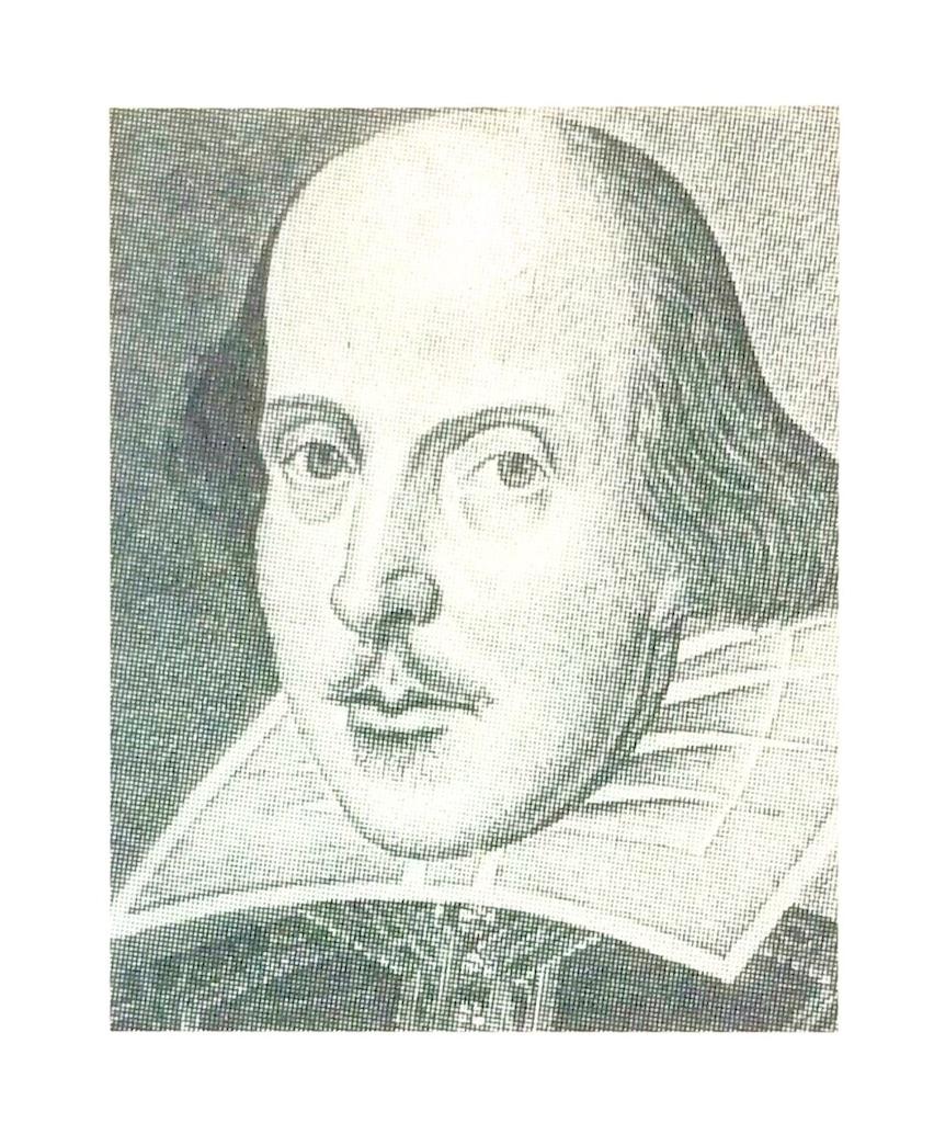シェイクスピア肖像画