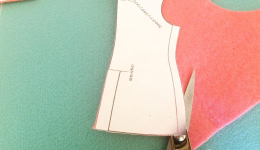 フェルトでリカちゃんの服を作ってみたら、簡単にかわいくできたよ【裁縫初心者、不器用さん向け】
