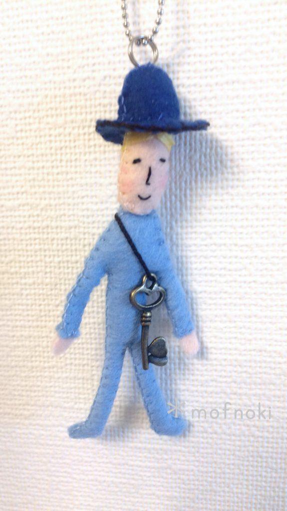 フェルトマスコット人形人間