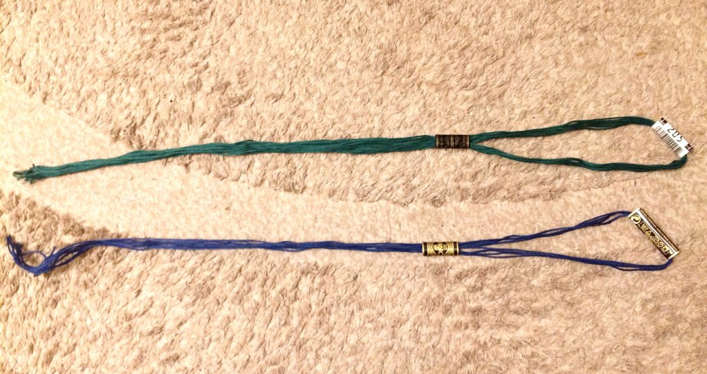 デアゴスティーニかわいい刺しゅう刺繍糸の量