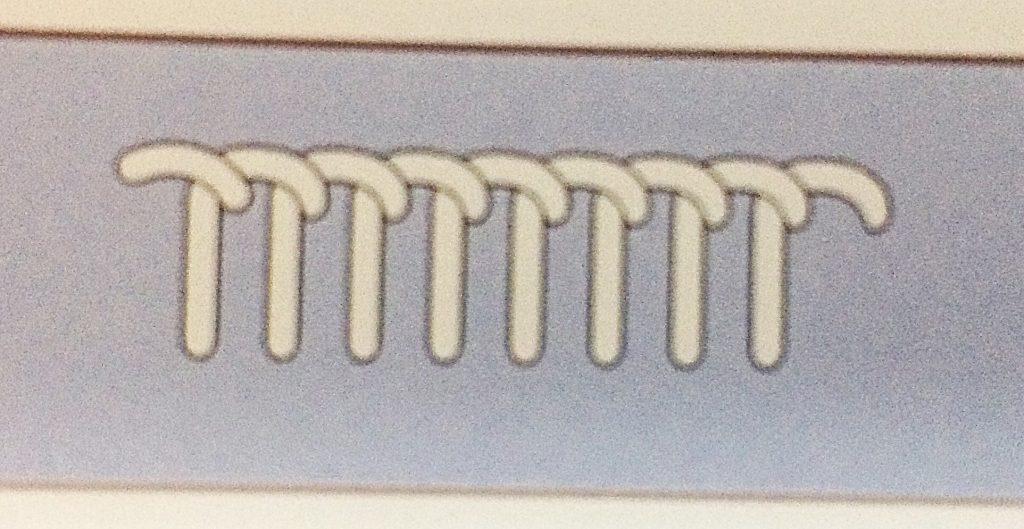 刺繍ボタンホールステッチ刺し方