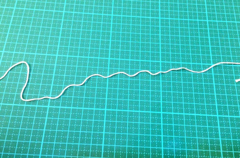 刺繍糸保管方法みつあみでくせがついた
