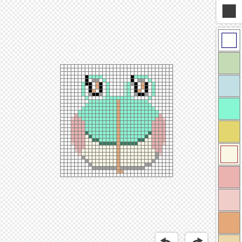 ドット絵の描き方のコツ4