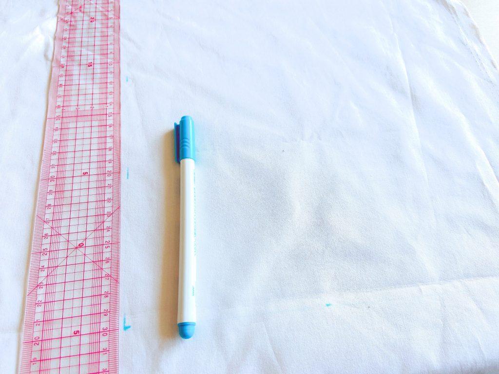 当て布の作り方1