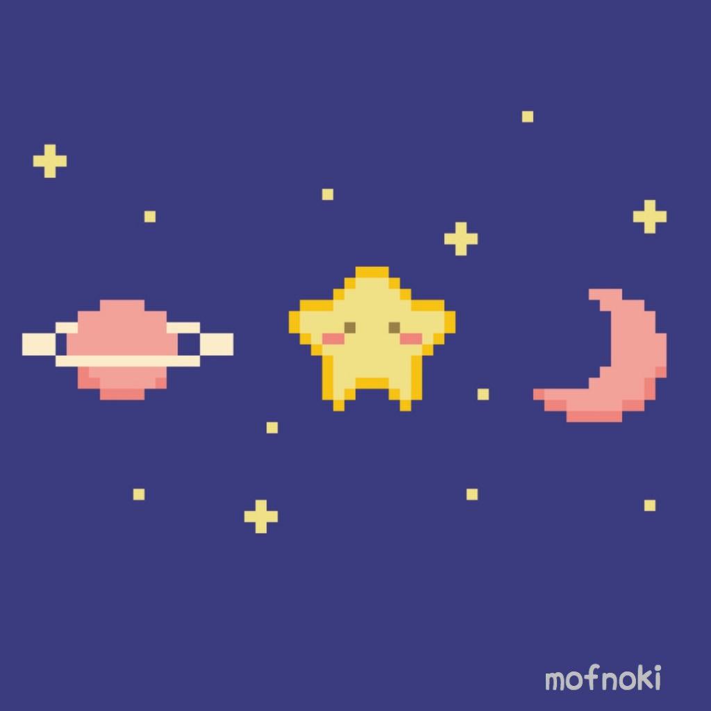 宇宙の中の星